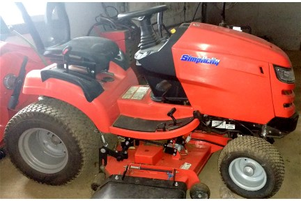 USED Simplicity Conquest 2552 25hp 52